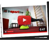 Balanční podložky inSPORTline a použití s žebřinami - YouTube