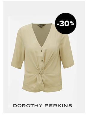 Béžová blúzka Dorothy Perkins | ZOOT.sk