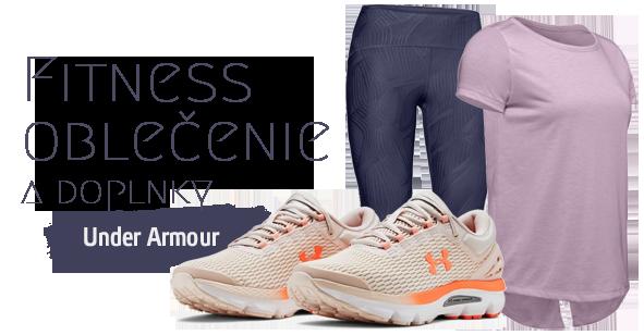 Najpredávanejšie Fitness oblečenie - značka Under Armour