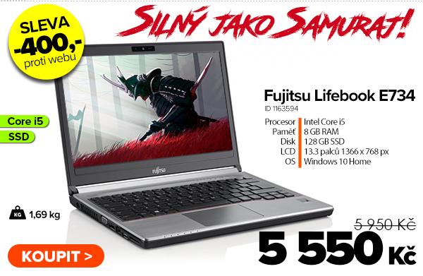 Fujitsu Lifebook E734za 5950Kč | GIGACOMPUTER.CZ