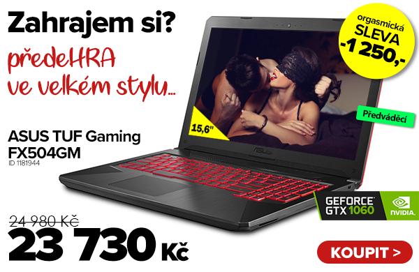 ASUS TUF Gaming FX504GM za 24980Kč | GIGACOMPUTER.CZ