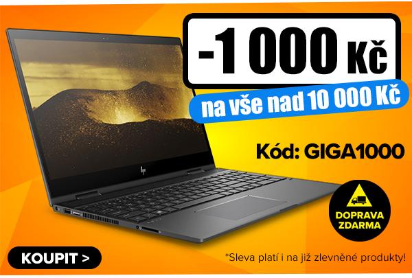 Sleva 500Kč, 1000Kč nebo 2000Kč na notebooky, počítače, telefony, LCD monitory adalší GIGOVKY.   GIGACOMPUTER.CZ