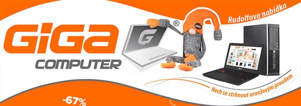 GIGACOMPUTER - Repasované notebooky ipředváděcí ntb se zárukou 2roky zdarma. Levné herní PC, stolní počítače iiPhony sdopravou zdarma | GIGACOMPUTER.CZ