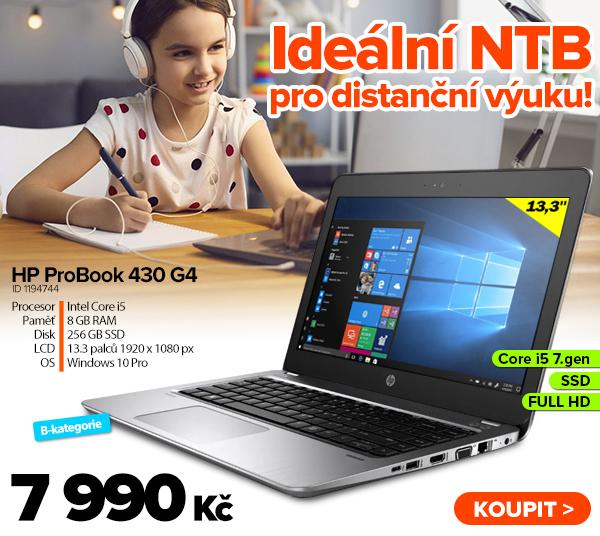 HP ProBook 430G4za 7990Kč - Notebook   GIGACOMPUTER.CZ