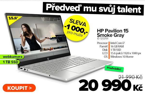 HP Pavilion 15-cs3054nl Smoke Gray za 21990Kč - Notebook | GIGACOMPUTER.CZ