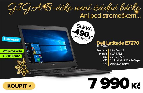 Dell Latitude E7270 za 8480Kč - Notebook   GIGACOMPUTER.CZ