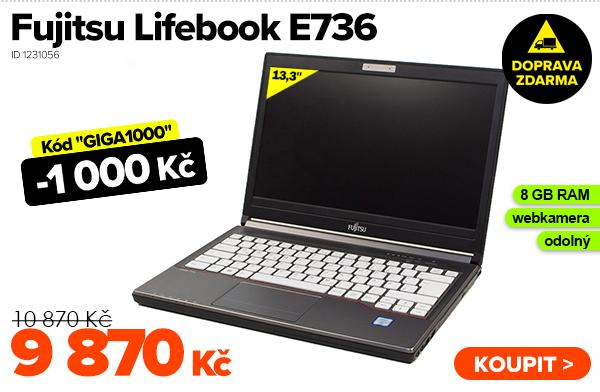 Fujitsu Lifebook E736za 10 870Kč - Notebook | GIGACOMPUTER.CZ