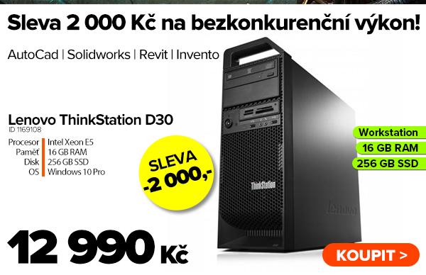 Lenovo ThinkStation D30 za 12990Kč - Počítač   GIGACOMPUTER.CZ