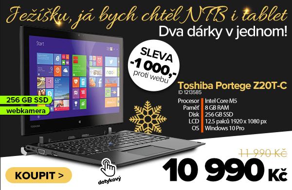 Toshiba Portege Z20T-C za 11990Kč - Notebook   GIGACOMPUTER.CZ