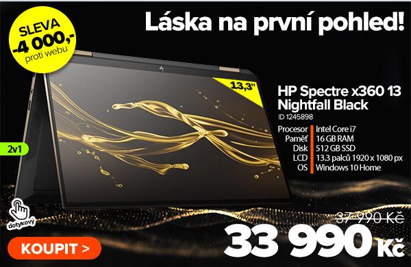HP Spectre x360 13-aw0007nj Nightfall Black za 37990Kč - Notebook   GIGACOMPUTER.CZ