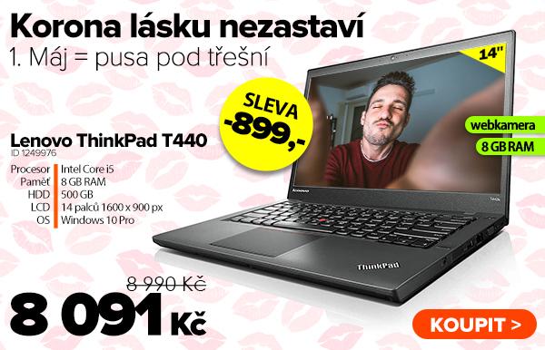 Lenovo ThinkPad T440 za 8091Kč - Notebook | GIGACOMPUTER.CZ