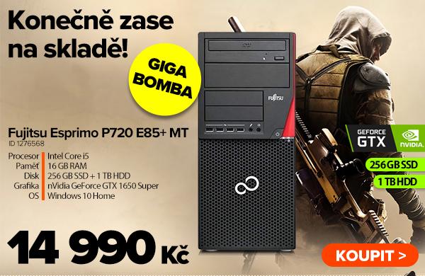 Fujitsu Esprimo P720 E85+ MT za 14990Kč - Počítač | GIGACOMPUTER.CZ