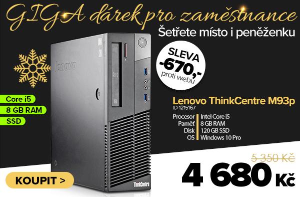 Lenovo ThinkCentre M93p 10A8SFF za 5350Kč - Počítač   GIGACOMPUTER.CZ