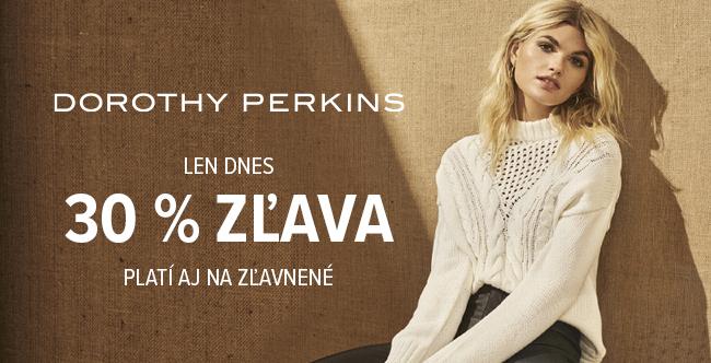 30% zľava na Dorothy Perkins