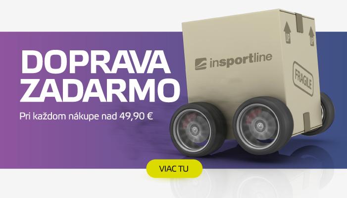 Doprava ZADARMO už od 49,90 € iba s inSPORTline!